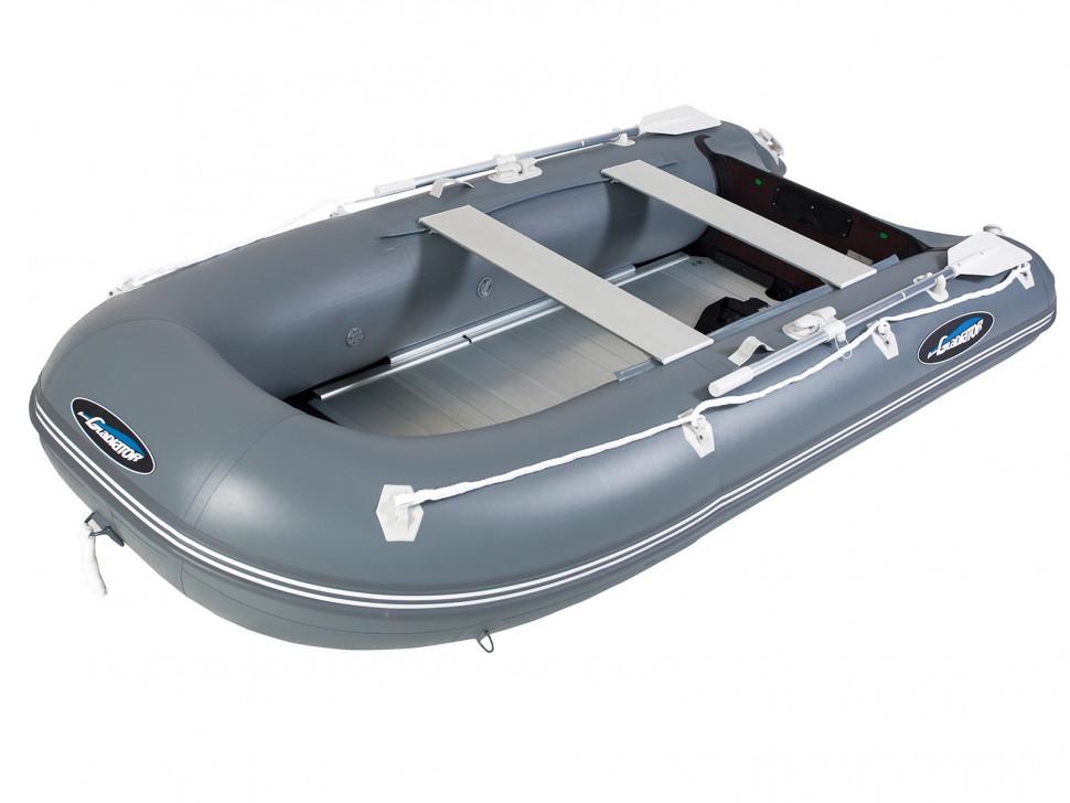 надувные лодки с транцем гладиатор