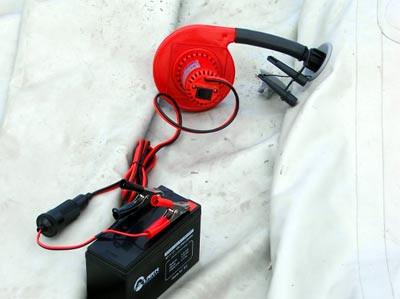 аккумулятор насос для лодки пвх
